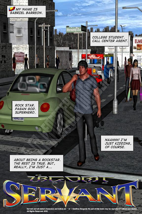 SERVANT #1 PAGE 1